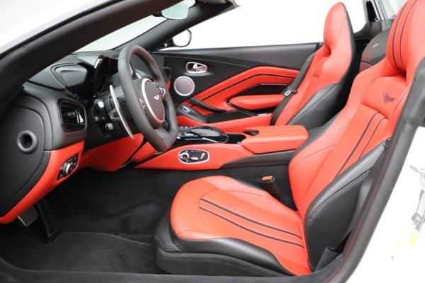 New 2021 Aston Martin Vantage Roadster Convertible for sale $189,186 at Maserati of Westport in Westport CT 06880 14