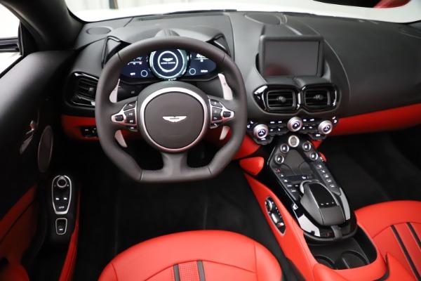 New 2021 Aston Martin Vantage Roadster Convertible for sale $189,186 at Maserati of Westport in Westport CT 06880 17