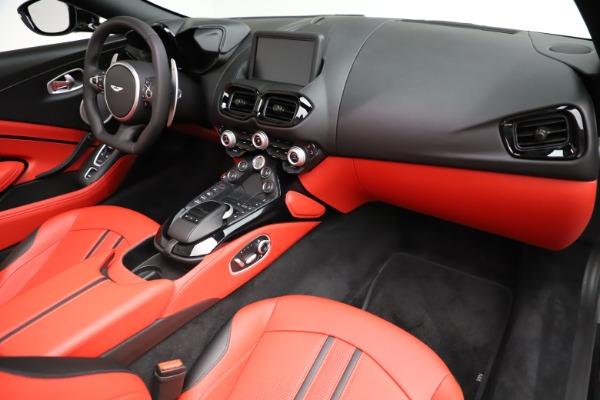 New 2021 Aston Martin Vantage Roadster Convertible for sale $189,186 at Maserati of Westport in Westport CT 06880 18