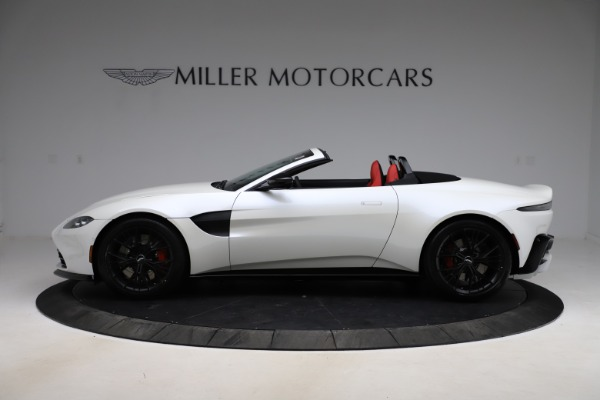 New 2021 Aston Martin Vantage Roadster Convertible for sale $189,186 at Maserati of Westport in Westport CT 06880 2
