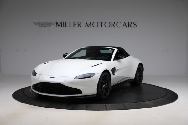 New 2021 Aston Martin Vantage Roadster Convertible for sale $189,186 at Maserati of Westport in Westport CT 06880 21