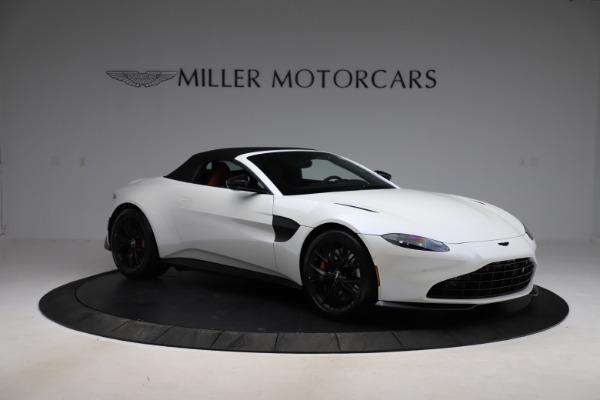 New 2021 Aston Martin Vantage Roadster Convertible for sale $189,186 at Maserati of Westport in Westport CT 06880 26