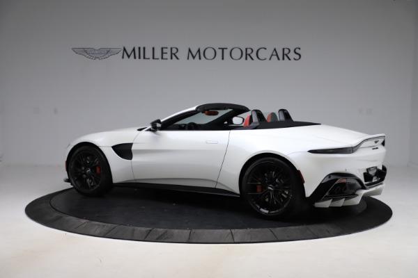 New 2021 Aston Martin Vantage Roadster Convertible for sale $189,186 at Maserati of Westport in Westport CT 06880 3