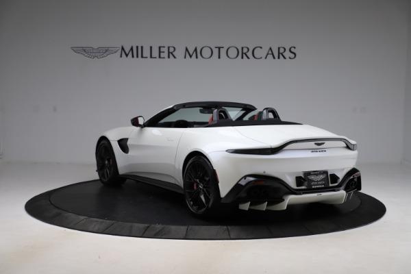 New 2021 Aston Martin Vantage Roadster Convertible for sale $189,186 at Maserati of Westport in Westport CT 06880 4