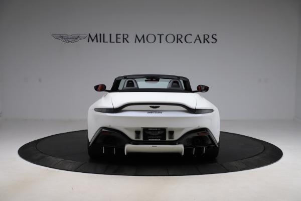 New 2021 Aston Martin Vantage Roadster Convertible for sale $189,186 at Maserati of Westport in Westport CT 06880 5