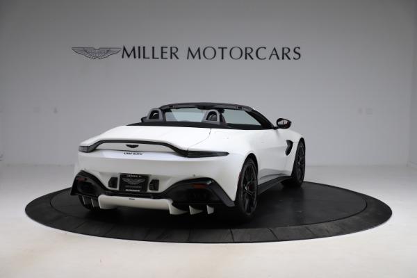 New 2021 Aston Martin Vantage Roadster Convertible for sale $189,186 at Maserati of Westport in Westport CT 06880 6