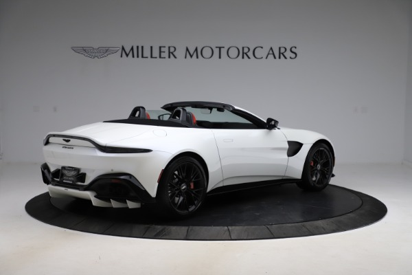 New 2021 Aston Martin Vantage Roadster Convertible for sale $189,186 at Maserati of Westport in Westport CT 06880 7
