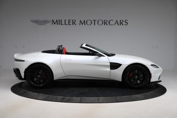 New 2021 Aston Martin Vantage Roadster Convertible for sale $189,186 at Maserati of Westport in Westport CT 06880 8