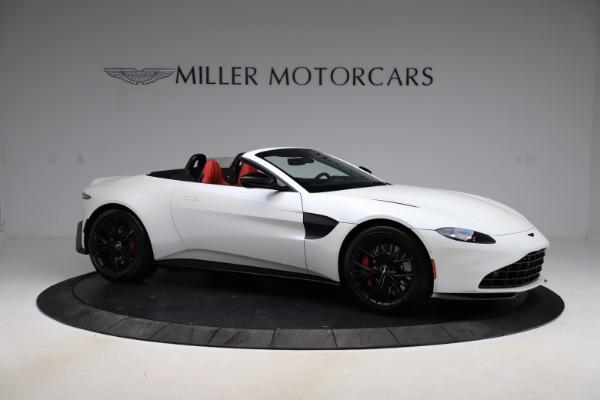 New 2021 Aston Martin Vantage Roadster Convertible for sale $189,186 at Maserati of Westport in Westport CT 06880 9