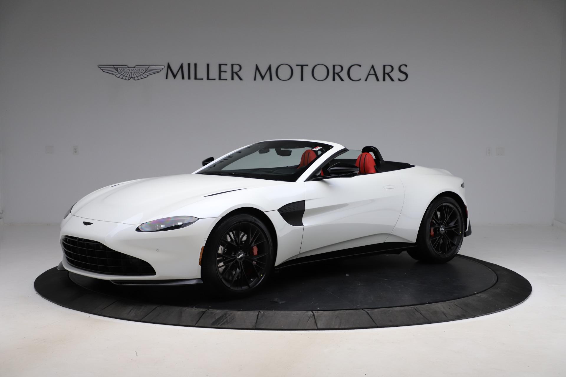 New 2021 Aston Martin Vantage Roadster Convertible for sale $189,186 at Maserati of Westport in Westport CT 06880 1