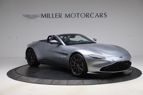 New 2021 Aston Martin Vantage Roadster Convertible for sale $199,285 at Maserati of Westport in Westport CT 06880 10