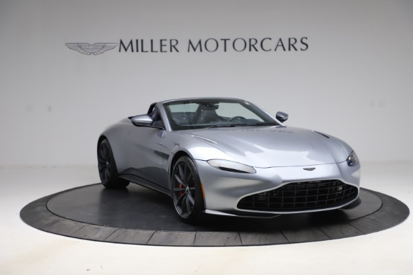 New 2021 Aston Martin Vantage Roadster Convertible for sale $199,285 at Maserati of Westport in Westport CT 06880 11