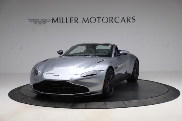 New 2021 Aston Martin Vantage Roadster Convertible for sale $199,285 at Maserati of Westport in Westport CT 06880 13