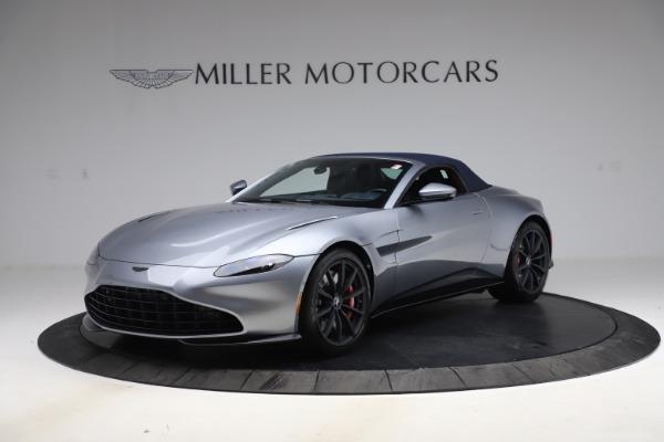 New 2021 Aston Martin Vantage Roadster Convertible for sale $199,285 at Maserati of Westport in Westport CT 06880 15