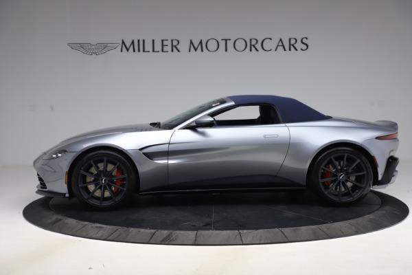 New 2021 Aston Martin Vantage Roadster Convertible for sale $199,285 at Maserati of Westport in Westport CT 06880 16