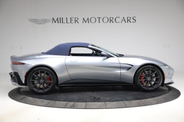 New 2021 Aston Martin Vantage Roadster Convertible for sale $199,285 at Maserati of Westport in Westport CT 06880 17
