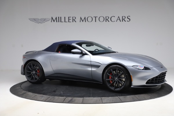 New 2021 Aston Martin Vantage Roadster Convertible for sale $199,285 at Maserati of Westport in Westport CT 06880 18