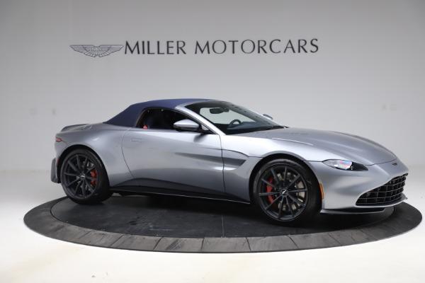 New 2021 Aston Martin Vantage Roadster Convertible for sale $199,285 at Maserati of Westport in Westport CT 06880 19