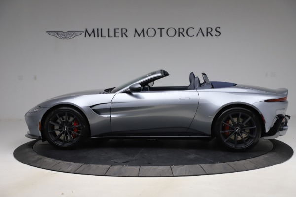 New 2021 Aston Martin Vantage Roadster Convertible for sale $199,285 at Maserati of Westport in Westport CT 06880 2