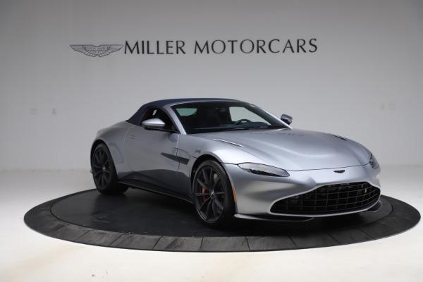 New 2021 Aston Martin Vantage Roadster Convertible for sale $199,285 at Maserati of Westport in Westport CT 06880 20