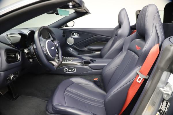 New 2021 Aston Martin Vantage Roadster Convertible for sale $199,285 at Maserati of Westport in Westport CT 06880 21
