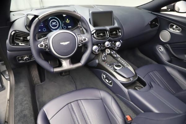 New 2021 Aston Martin Vantage Roadster Convertible for sale $199,285 at Maserati of Westport in Westport CT 06880 22