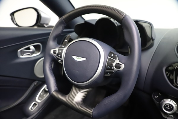 New 2021 Aston Martin Vantage Roadster Convertible for sale $199,285 at Maserati of Westport in Westport CT 06880 26