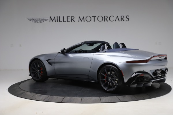 New 2021 Aston Martin Vantage Roadster Convertible for sale $199,285 at Maserati of Westport in Westport CT 06880 3
