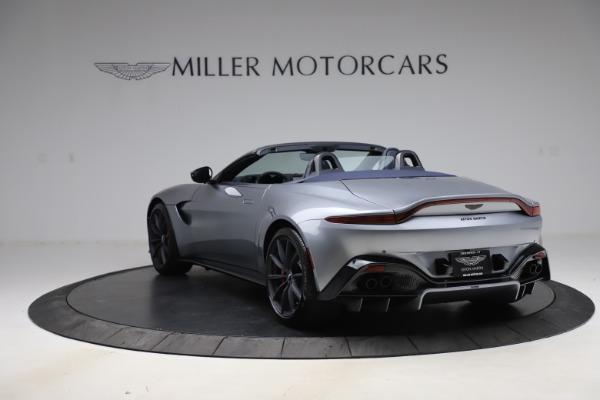 New 2021 Aston Martin Vantage Roadster Convertible for sale $199,285 at Maserati of Westport in Westport CT 06880 4