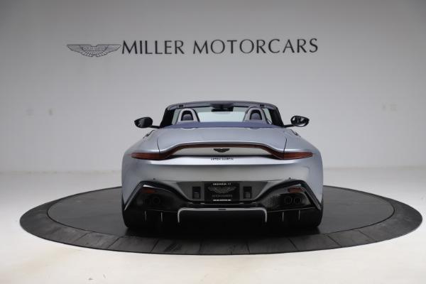 New 2021 Aston Martin Vantage Roadster Convertible for sale $199,285 at Maserati of Westport in Westport CT 06880 5