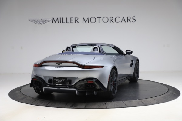 New 2021 Aston Martin Vantage Roadster Convertible for sale $199,285 at Maserati of Westport in Westport CT 06880 6