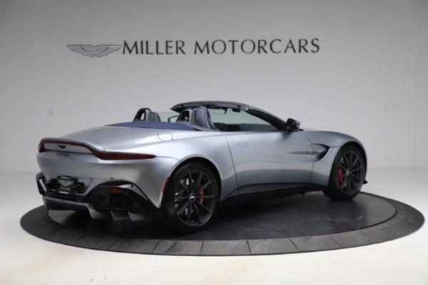 New 2021 Aston Martin Vantage Roadster Convertible for sale $199,285 at Maserati of Westport in Westport CT 06880 7