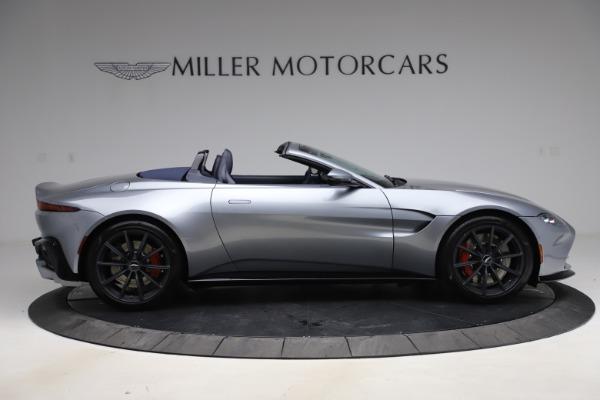New 2021 Aston Martin Vantage Roadster Convertible for sale $199,285 at Maserati of Westport in Westport CT 06880 8