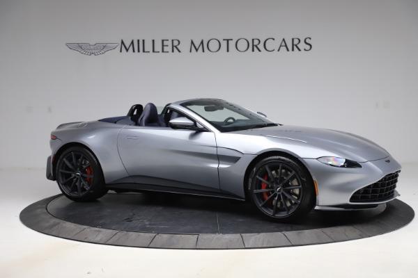 New 2021 Aston Martin Vantage Roadster Convertible for sale $199,285 at Maserati of Westport in Westport CT 06880 9