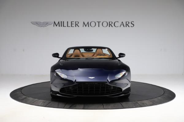 New 2021 Aston Martin Vantage Roadster Convertible for sale $205,686 at Maserati of Westport in Westport CT 06880 11