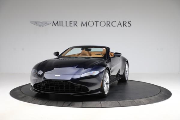 New 2021 Aston Martin Vantage Roadster Convertible for sale $205,686 at Maserati of Westport in Westport CT 06880 12