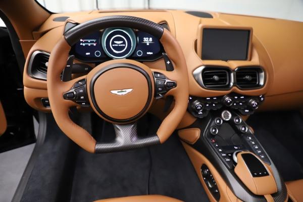 New 2021 Aston Martin Vantage Roadster Convertible for sale $205,686 at Maserati of Westport in Westport CT 06880 17