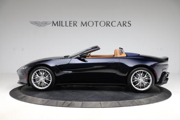 New 2021 Aston Martin Vantage Roadster Convertible for sale $205,686 at Maserati of Westport in Westport CT 06880 2