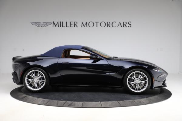 New 2021 Aston Martin Vantage Roadster Convertible for sale $205,686 at Maserati of Westport in Westport CT 06880 22