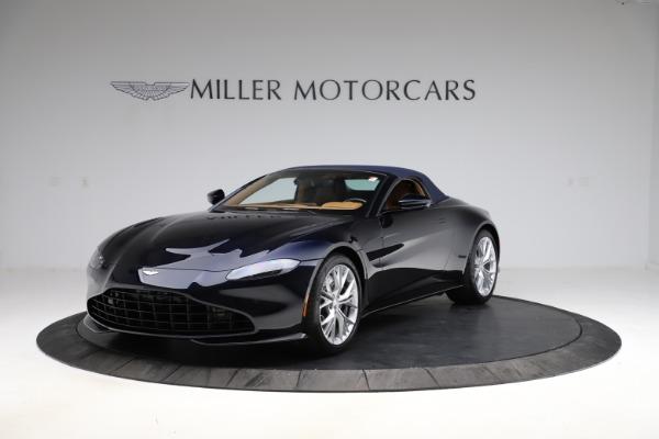 New 2021 Aston Martin Vantage Roadster Convertible for sale $205,686 at Maserati of Westport in Westport CT 06880 24