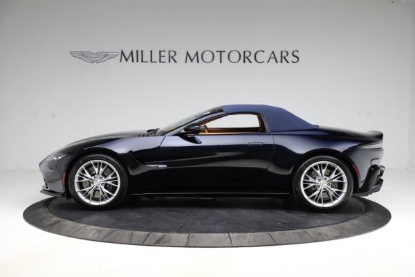 New 2021 Aston Martin Vantage Roadster Convertible for sale $205,686 at Maserati of Westport in Westport CT 06880 25