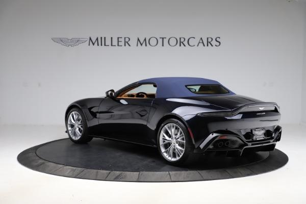 New 2021 Aston Martin Vantage Roadster Convertible for sale $205,686 at Maserati of Westport in Westport CT 06880 26