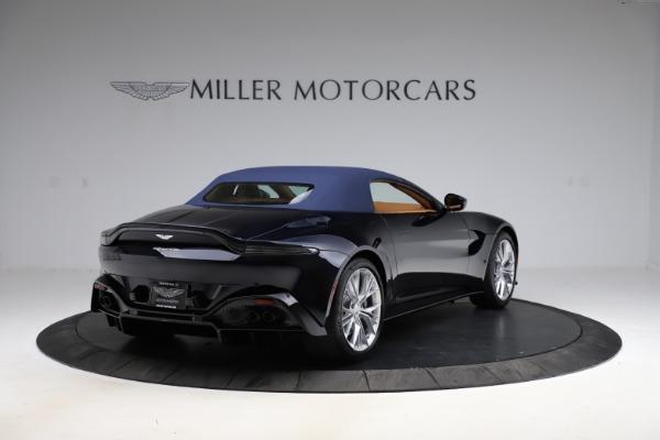 New 2021 Aston Martin Vantage Roadster Convertible for sale $205,686 at Maserati of Westport in Westport CT 06880 27