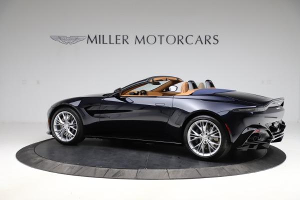 New 2021 Aston Martin Vantage Roadster Convertible for sale $205,686 at Maserati of Westport in Westport CT 06880 3