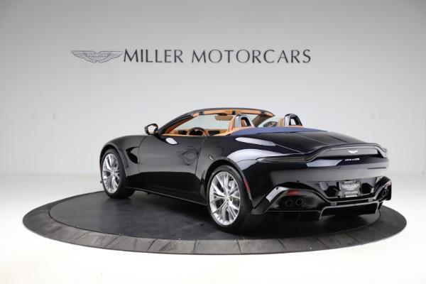 New 2021 Aston Martin Vantage Roadster Convertible for sale $205,686 at Maserati of Westport in Westport CT 06880 4