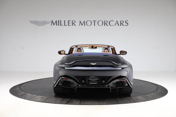 New 2021 Aston Martin Vantage Roadster Convertible for sale $205,686 at Maserati of Westport in Westport CT 06880 5