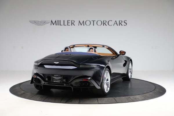 New 2021 Aston Martin Vantage Roadster Convertible for sale $205,686 at Maserati of Westport in Westport CT 06880 6