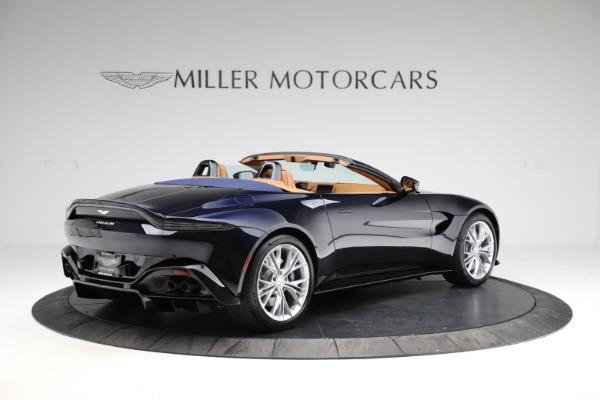 New 2021 Aston Martin Vantage Roadster Convertible for sale $205,686 at Maserati of Westport in Westport CT 06880 7