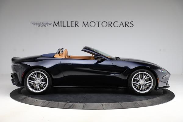 New 2021 Aston Martin Vantage Roadster Convertible for sale $205,686 at Maserati of Westport in Westport CT 06880 8