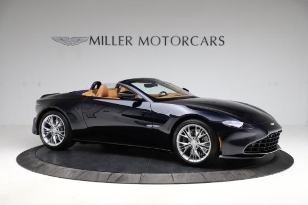 New 2021 Aston Martin Vantage Roadster Convertible for sale $205,686 at Maserati of Westport in Westport CT 06880 9